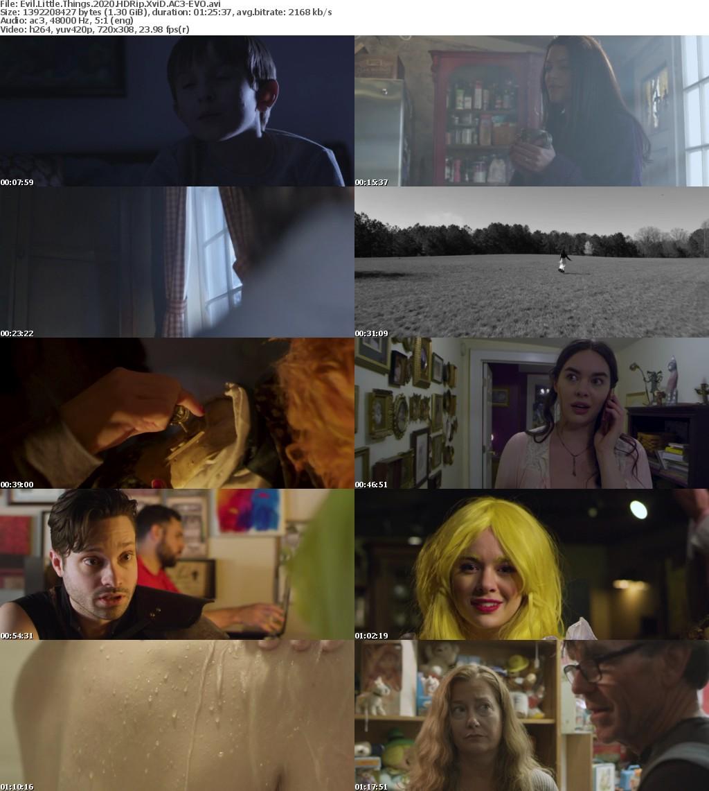Evil Little Things (2020) HDRip XviD AC3-EVO