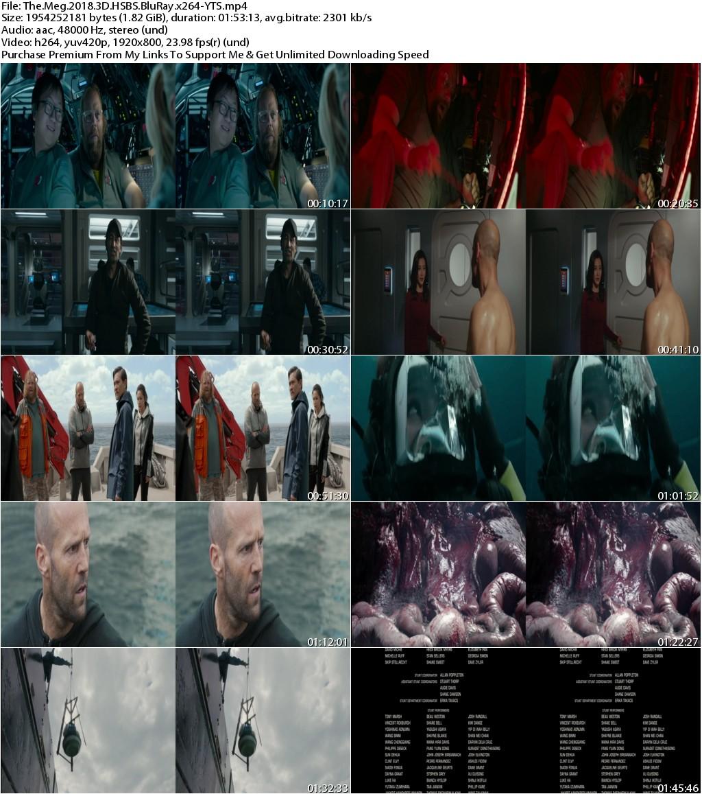 The Meg (2018) 3D HSBS 1080p BluRay x264-YTS