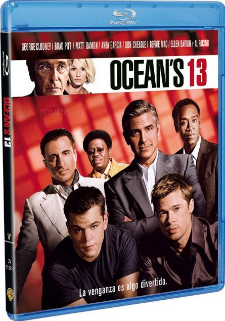 Oceans Thirteen (2007) 720p Bluray x264 Dual Audio Hindi DD2.0 English DD5.1 ESub 1.26GB-MA
