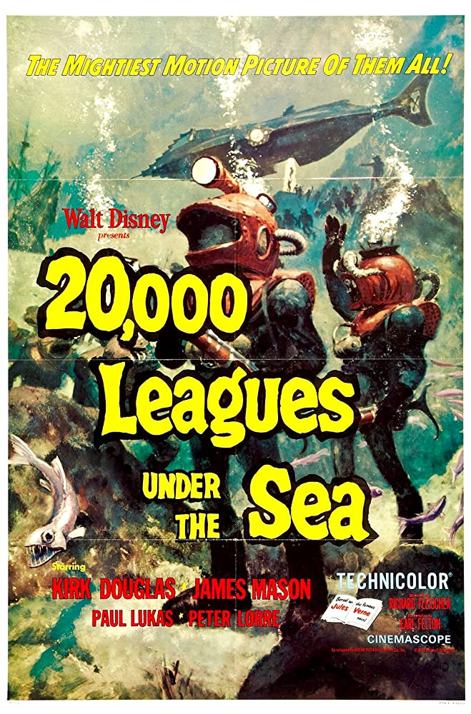 20,000 Leagues Under the Sea (1954) [720p] [BluRay] [YTS MX]