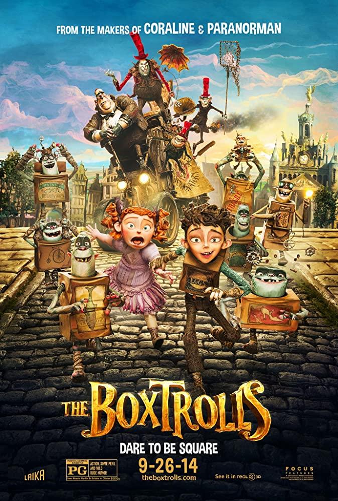 The Boxtrolls 2014 1080p BluRay x265-RARBG
