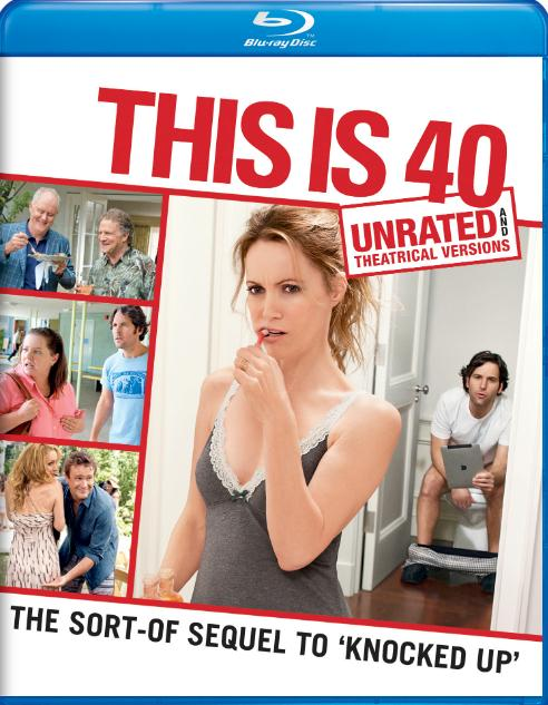 This Is 40 (2012) UNRATED 720p BluRay x264 Dual Audio English Hindi ESubs  DLW