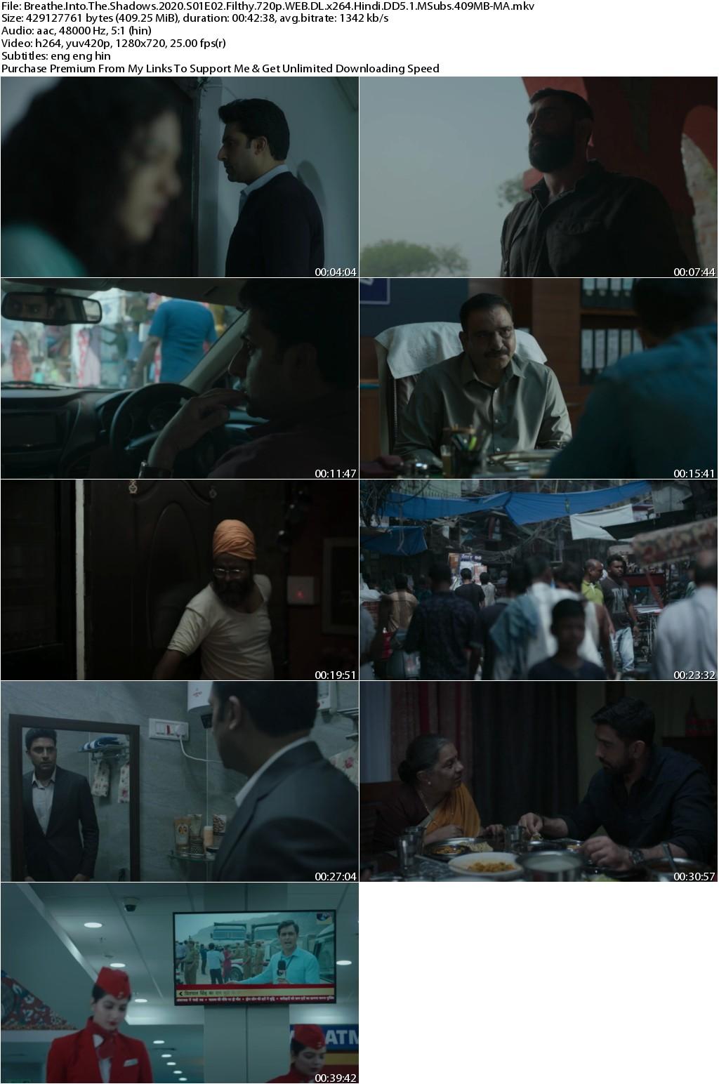 Breathe Into the Shadows 2020 Season 01 Complete 720p WEB-DL x264 Hindi DD5.1 MSubs-MA