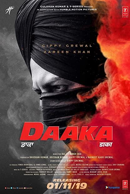 Daaka 2019 Punjabi DD5 1 720p WEBRip ESubs - LMH123