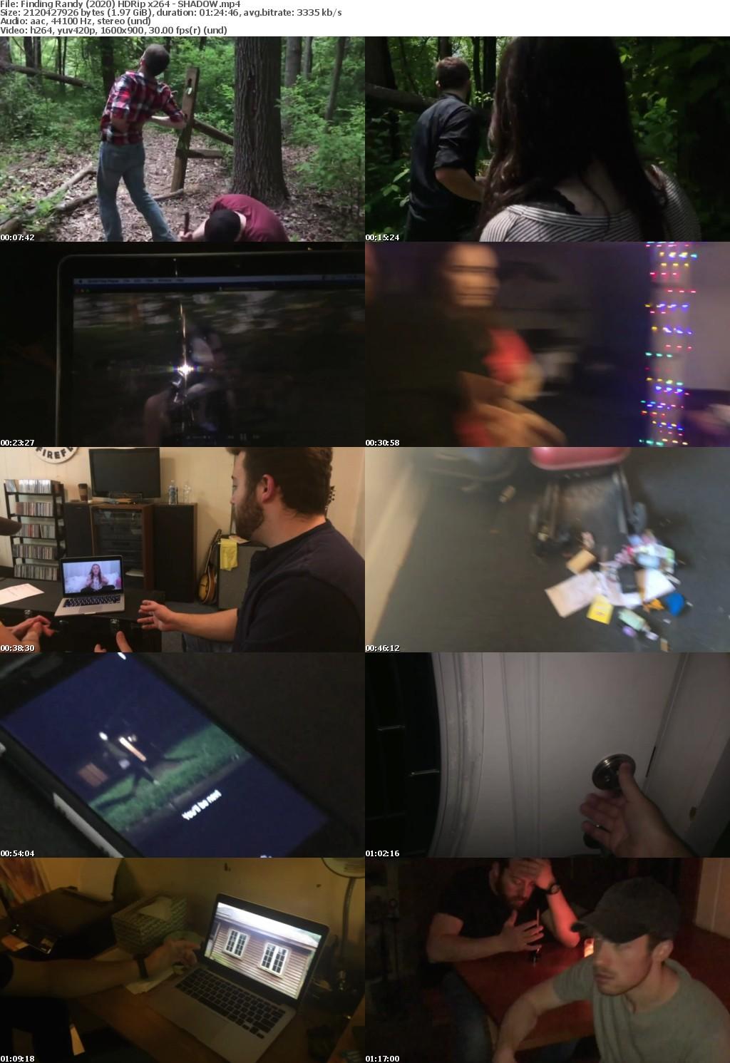 Finding Randy (2020) HDRip x264 - SHADOW