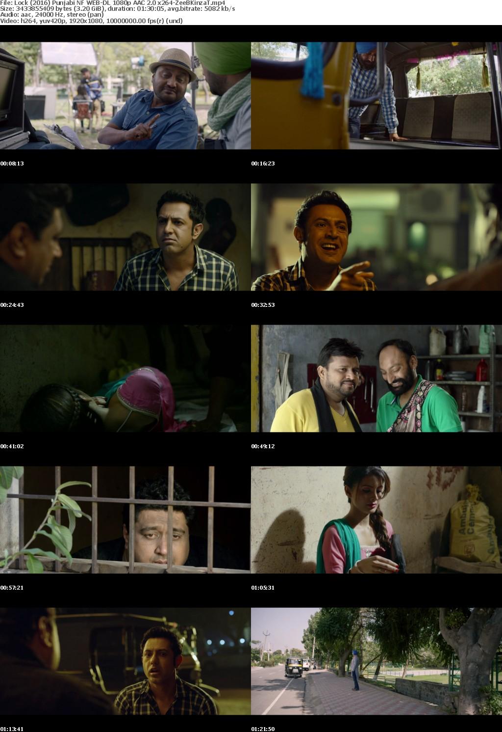 Lock (2016) Punjabi NF WEB-DL 1080p AAC 2 0 x264-ZeeBKinzaT mp4