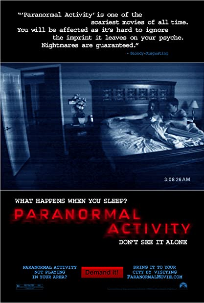 Paranormal Activity (2007) Unrated (1080p BDRip x265 10bit EAC3 5 1 - r0b0t ...