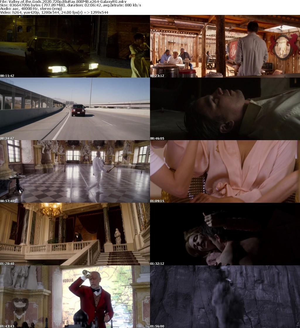 Valley of the Gods 2020 720p BluRay 800MB x264-GalaxyRG