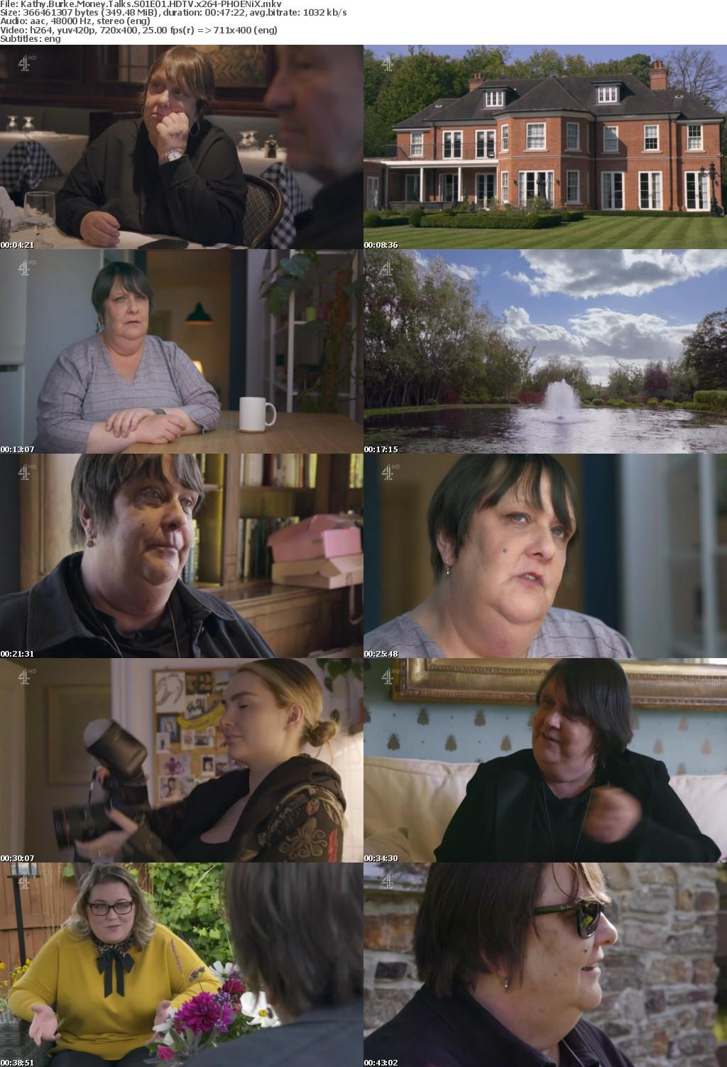 Kathy Burke Money Talks S01E01 HDTV x264-PHOENiX