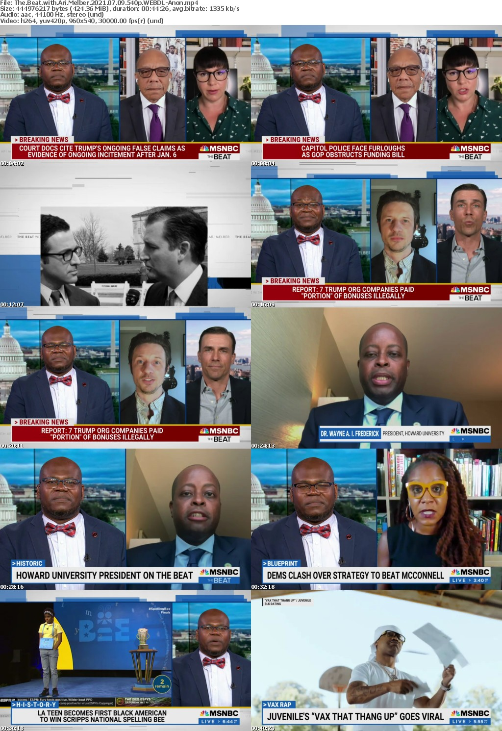 The Beat with Ari Melber 2021 07 09 540p WEBDL-Anon