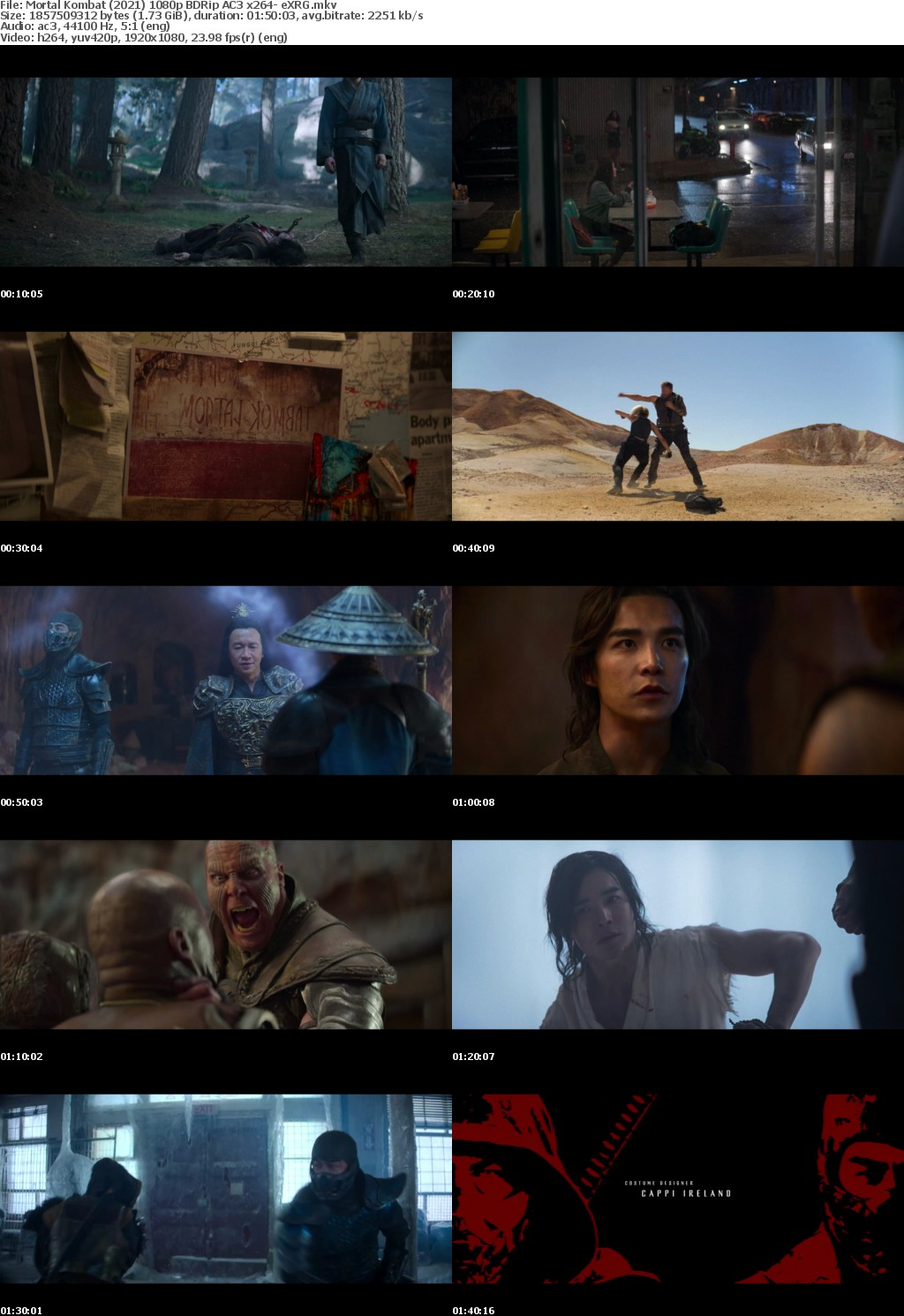 Mortal Kombat (2021) 1080p BDRip AC3 x264- eXRG