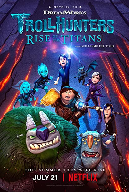 Trollhunters Rise of the Titans 2021 HDRip XviD AC3-EVO