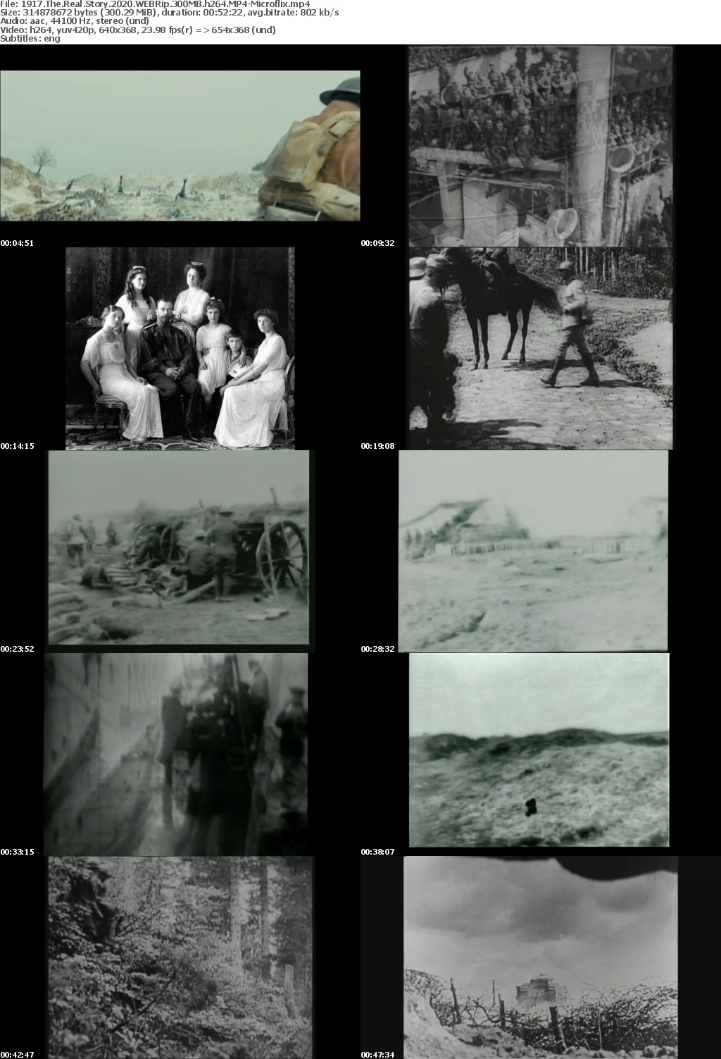 1917 The Real Story 2020 WEBRip 300MB h264 MP4-Microflix