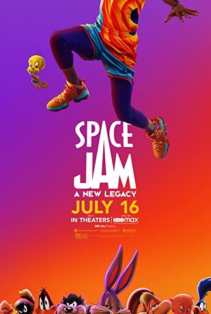 Space Jam a New Legacy 2021 1080p HMAX WEBRip 1400MB DD5 1 x264-GalaxyRG