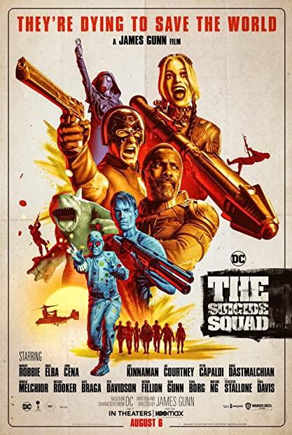 The Suicide Squad 2021 1080p HMAX WEBRip DD 5 1 ESubs x264 - mkvAnime Telly mkv