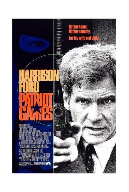 Patriot Games (1992) REMASTERED 1080p BluRay x264 Hindi English AC3 5 1 ESub - SP3LL